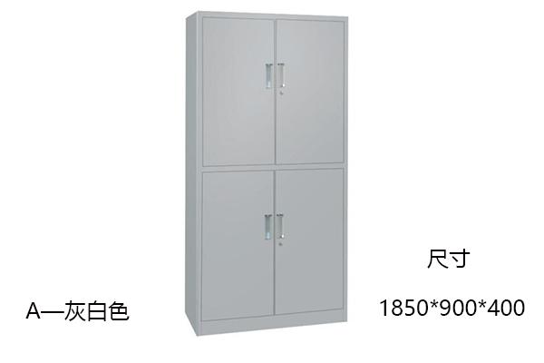 钢制文件柜-通体双节柜