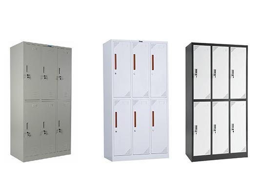 钢制-六门更衣柜