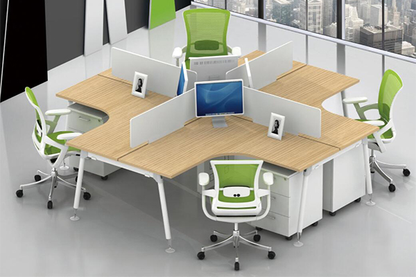 办公桌-屏风工作位-03