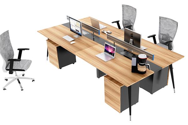 办公桌-屏风工作位-05