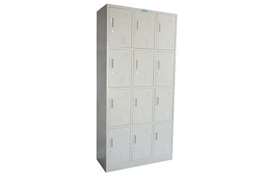 钢制-十二门更衣柜