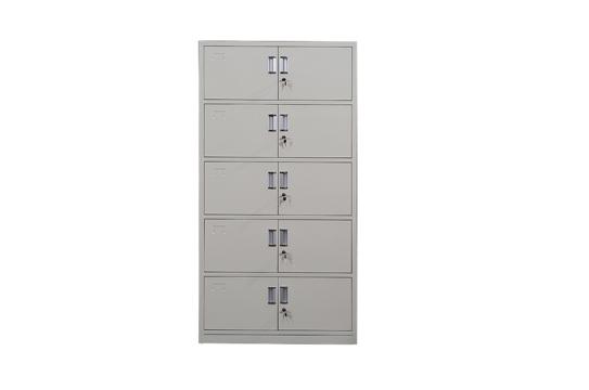 钢制文件柜-五节档案柜