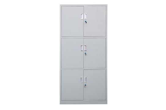 钢制文件柜-通体三节柜