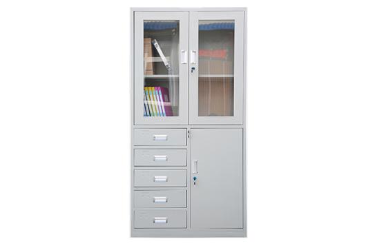 钢制文件柜-偏五斗器械柜