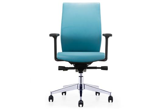 办公椅-职员椅-(皮)002