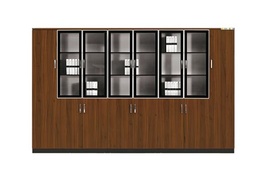 实木文件柜、书柜-GY001