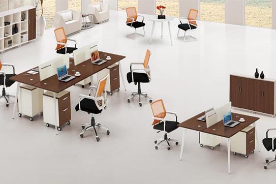 办公桌-屏风工作位-010