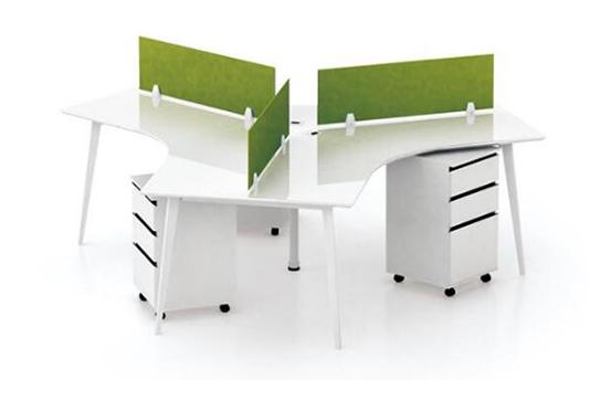 办公桌-屏风工作位-012