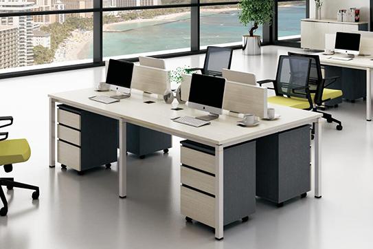 办公桌-屏风工作位-013