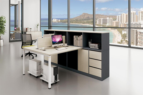 办公桌-屏风工作位-015