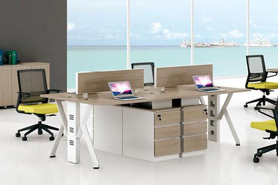 办公桌-屏风工作位-019
