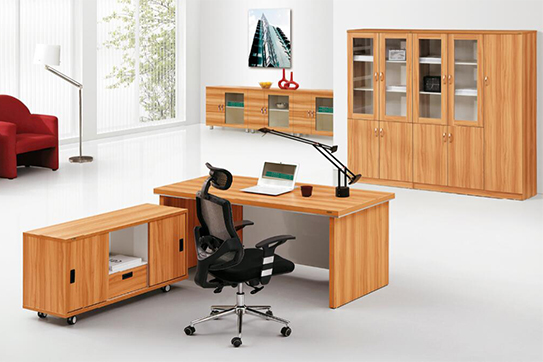 办公桌-板式大班台-NY003