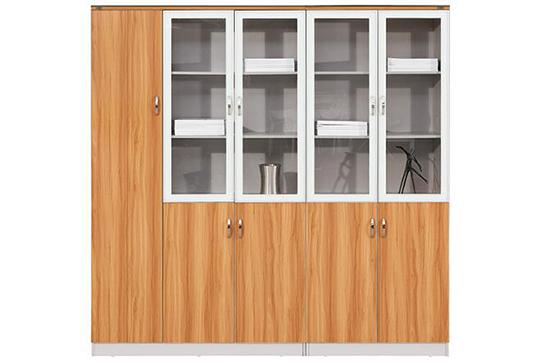 实木文件柜、书柜-NY002