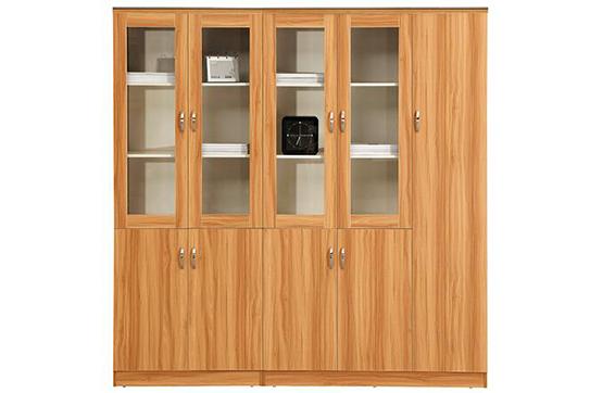 实木文件柜、书柜-NY003