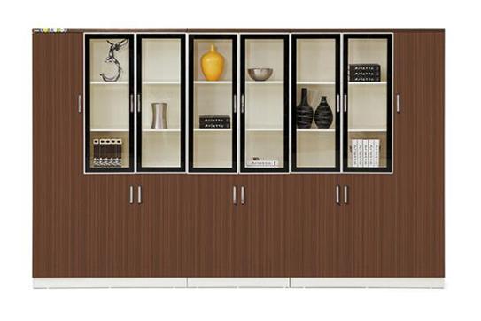 实木文件柜、书柜-RY001