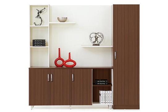 实木文件柜、书柜-RY002