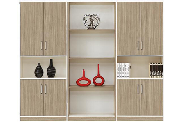 实木文件柜、书柜-ZY001