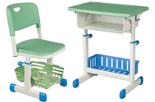 课桌椅-全新塑料套管旋钮式升降