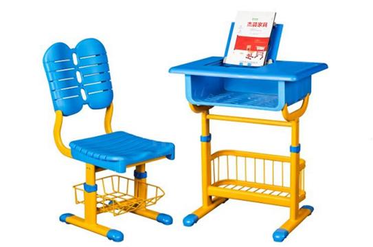 课桌椅-带平板电脑置物架