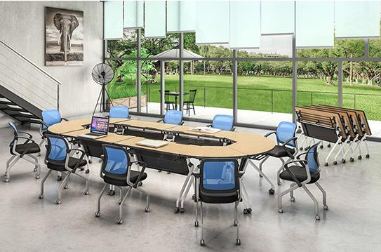 折叠培训桌、会议桌-FT018