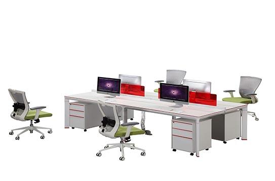 板式办公桌-JC-KN-22412