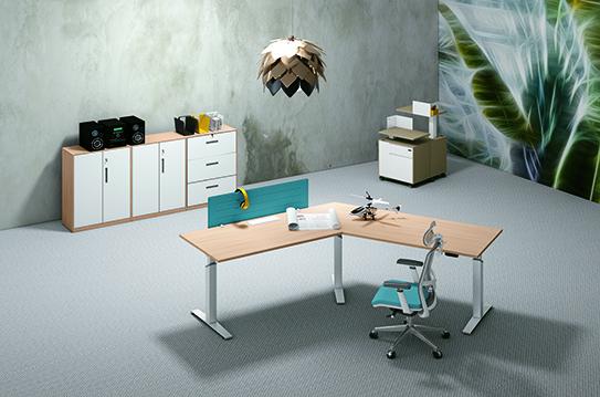 升降办公桌-JC-BT-A04