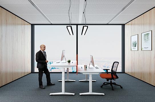 升降办公桌-米克系列003