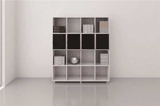 板式资料柜-16格型