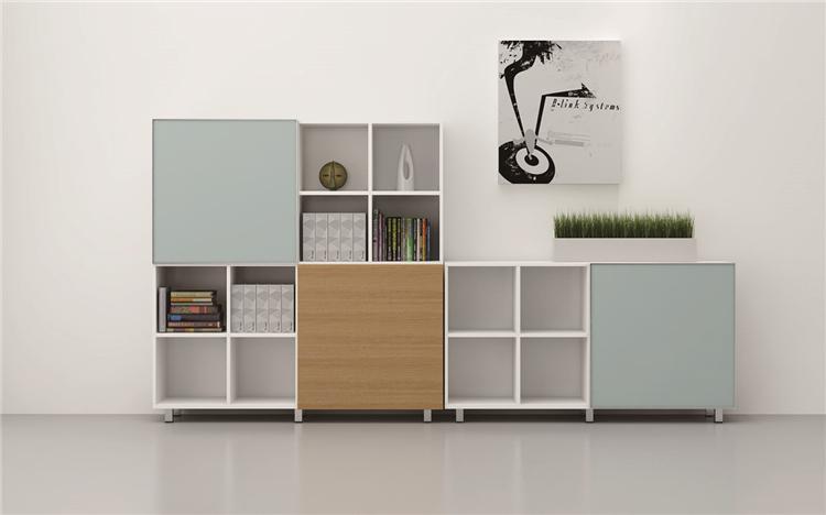 板式资料柜-L型资料柜
