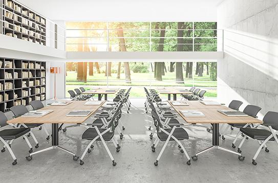 折叠培训桌、折叠会议桌-FT020