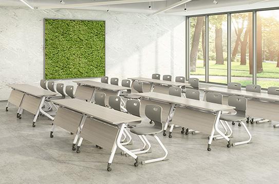 折叠培训桌、会议桌-FT011