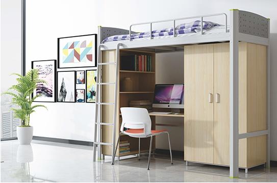 学校家具-公寓床-JC-GYC-G02