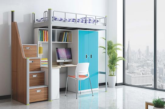 学校家具-公寓床-JC-GYC-G09