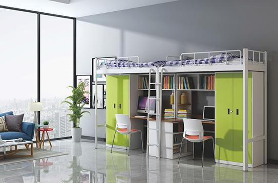 学校家具-公寓床-JC-GYC-G14