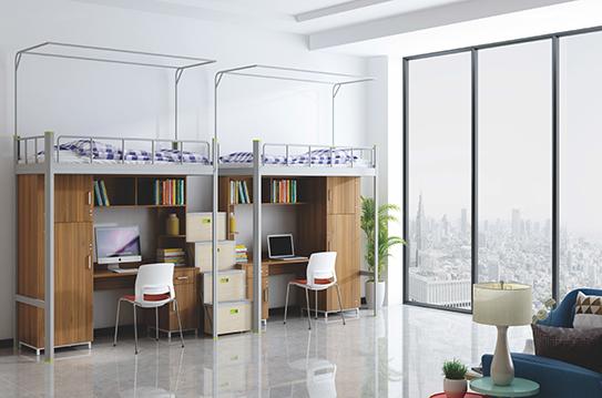 学校家具-公寓床-JC-GYC-G16