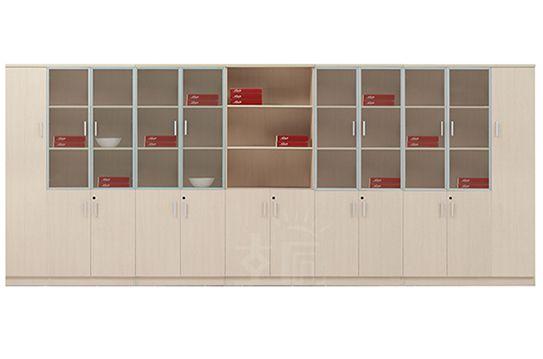 白枫系列-木质文件柜