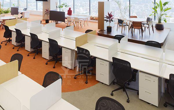 開放辦公室辦公家具解決方案