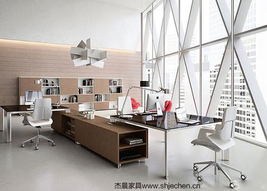 轻尚风总裁办公室解决方案-ZCA004