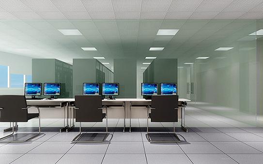 明净科技风办公室解决方案GBA017