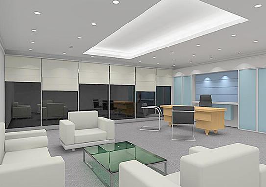 明净雅白风办公室家具解决方案-GLA005